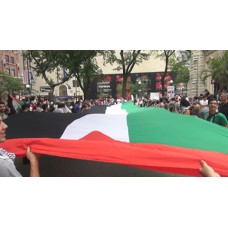 Chicago Protests Collective Punishment of Palestinians